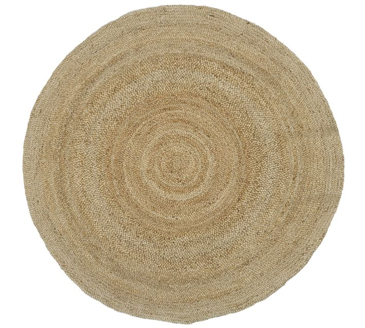 Round Jute Rug - Natural | Pottery Barn