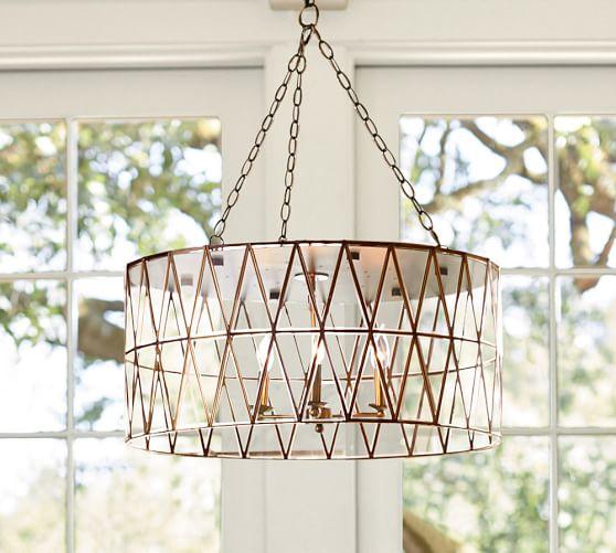 Grace Chandelier | Pottery Barn:,Lighting