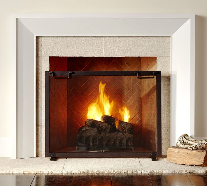 Quicklook - Fireplace Accessories Pottery Barn