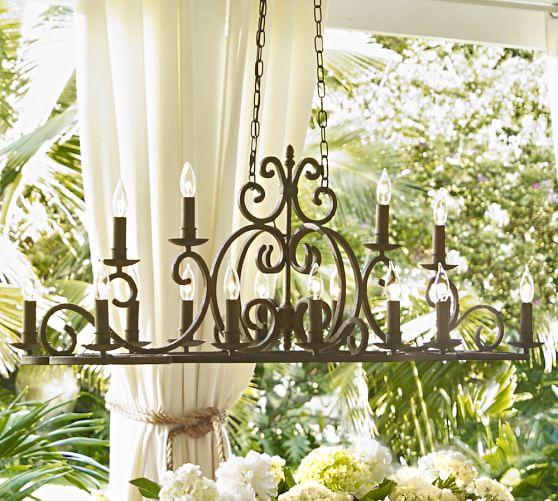 Stonyford IndoorOutdoor Chandelier – Indoor Outdoor Chandelier