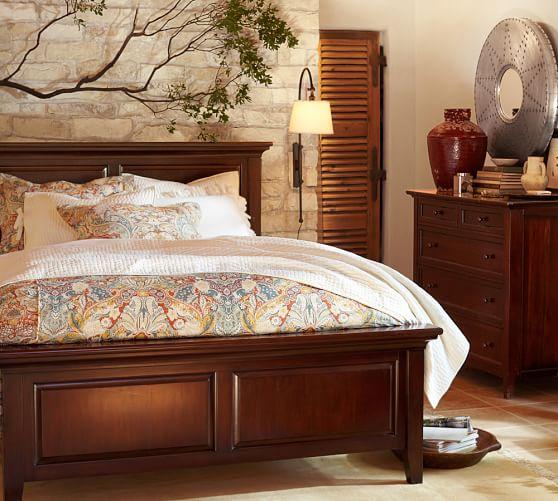 hudson storage bed dresser set pottery barn. Black Bedroom Furniture Sets. Home Design Ideas