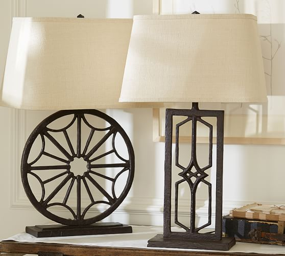Iron Table Lamp: ... Gavin Iron Table Lamp Bases. View Larger. Roll Over Image to Zoom,Lighting