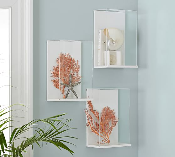 8 x 10 clear acrylic box frame