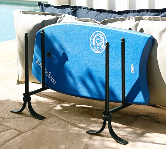 Bronze pool storage float organizer set of 2 pottery barn for Swimming pool float storage rack