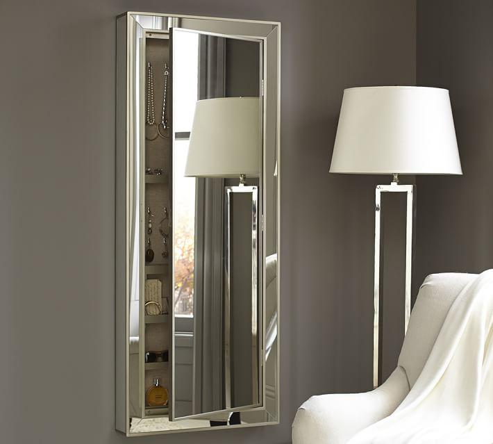 perfect decorative wall mirror jewelry organizer decorative storage with mirror jewelry armoire