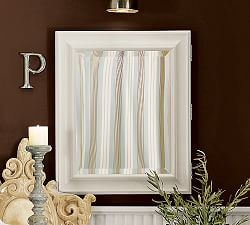 Wall Mounted Amp Recessed Medicine Cabinets Pottery Barn