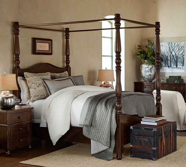 . Cortona Canopy Bed   Dresser Set   Pottery Barn
