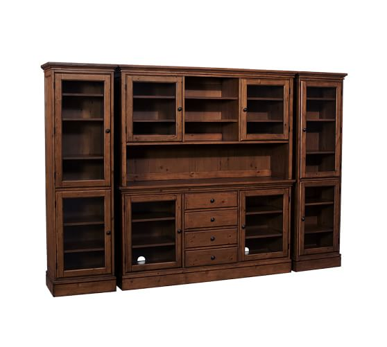 Roll Over Image to Zoom. Tucker Wall Unit   Pottery Barn