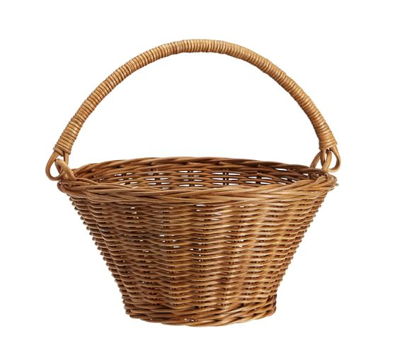 Natural Sabrina Easter Basket Collapsible - Small