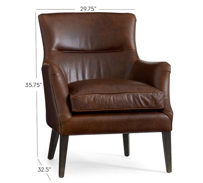 Carson Leather Armchair – Carson Chair