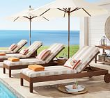 Universal Single Chaise Cushion, Removable, Sunbrella® Mist
