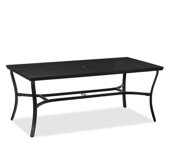 Riviera Rectangular Dining Table, 72 x 38