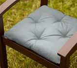Universal Tufted Dining Cushion, Sunbrella® Mist