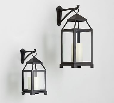 Wall-Mounted Lantern Hook Pottery Barn