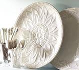 Juliette Oversized Ceramic Round Serving Platter