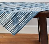 Shibori Diamond Table Throw