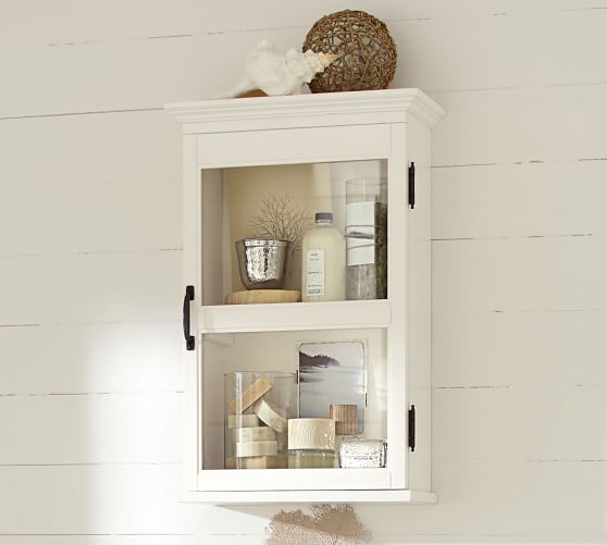 pottery barn bathroom cabinet franklin wall cabinet pottery barn 24867