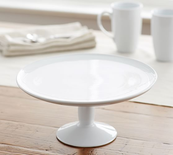 white cake stand great white cake stand pottery barn 30523